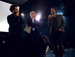 "Prima proiezione Film ""Quando dal Cielo...(Wenn aus dem Himmel...)"""